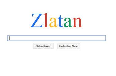 В честь футболиста Златана Ибрагимовича создали поисковую систему