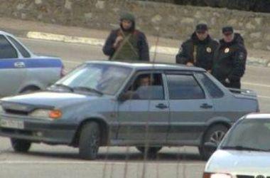 В Крыму водителей подвергают унизительному обыску