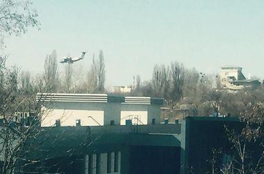 """Киевлян напугали военные самолеты над аэропортом """"Киев"""""""