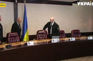 Стратегию нацбезопасности Украины презентовал сегодня Александр Турчинов