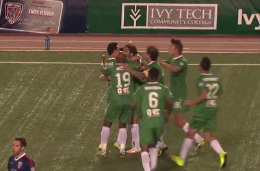 """Легенда """"Реала"""" Рауль забил дебютный гол в NASL"""