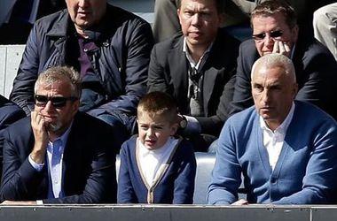 "Экс-президент ""Металлиста"" с сыном посетил матч ""Челси"""