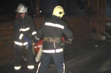 Ночью в Харькове дотла сгорело кафе