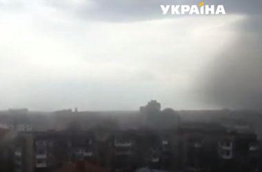 На западную Украину обрушились пыльные бури и смерчи