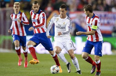 Мадридское дерби в Лиге чемпионов завершилось миром