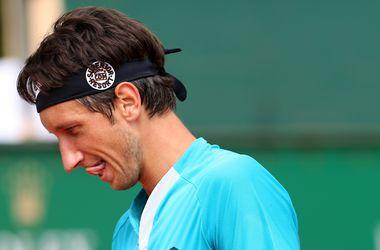 Стаховский проиграл восьмой ракетке мира и покинул турнир в Монте-Карло