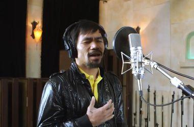Мэнни Пакьяо записал песню под которую выйдет на бой против Мейвезера
