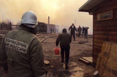 Лесные пожары в России за день разрослись вдвое