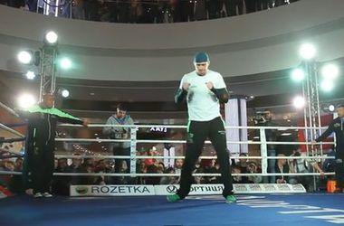 Тренировки Усика и Князева накануне боя в Киеве