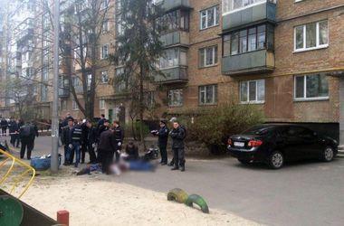 Видео с места убийства Олеся Бузины