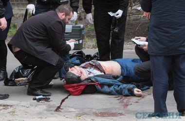 Полный фоторепортаж с места убийства Олеся Бузины