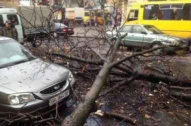 Сильный ветер продолжает разрушать столицу: падают крыши и обрываются трубы