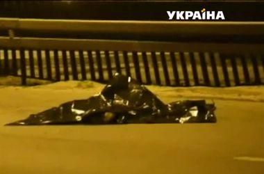 Польское ДТП с украинцами: грузовик полностью раздавил авто