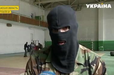 В Луганской области военные проводят учения