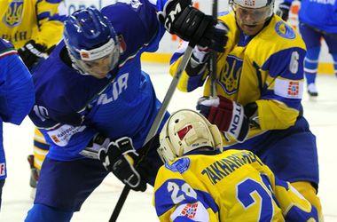 Сборная Украины проиграла второй матч на ЧМ по хоккею