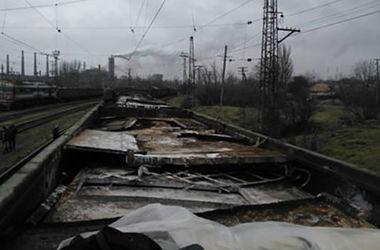 Милиция остановила поезд с металлоломом от боевиков