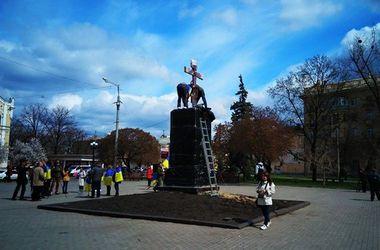 Вместо Руднева в Харькове установили крест