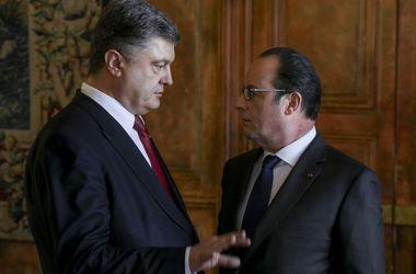 Порошенко: Франция поможет Украине провести прозрачную приватизацию