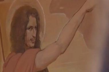 """Во львовском храме Кузьму """"Скрябина"""" изобразили Иоанном Крестителем"""