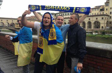 """Перед матчем Лиги Европы: итальянцы верят в успех """"Фиорентины"""", а украинцы распевают хит о Путине"""