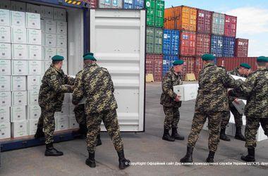 В Одесском порту накрыти табачную контрабанду на 37 миллионов