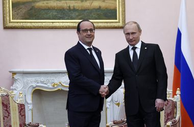 Песков рассказал, о чем в Ереване говорили Путин и Олланд