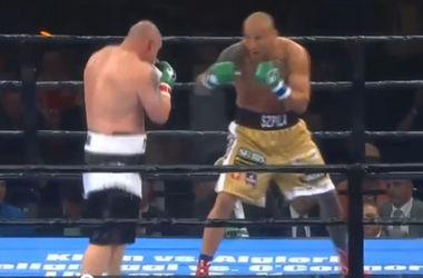 Артупр Шпилька нокаутировал американского боксера Кобба