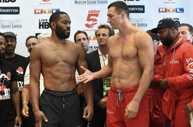 Когда начнется бой Кличко - Дженнингс: расписание вечера бокса в Нью-Йорке