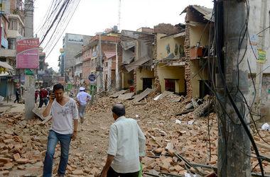 Очередное землетрясение магнитудой 5 баллов произошло в Непале