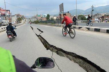 В Непале произошло третье землетрясение