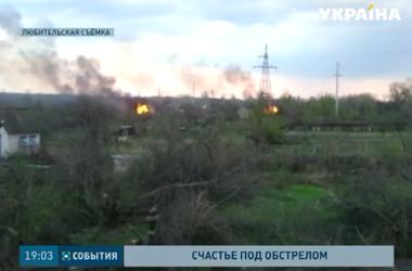 Участились обстрелы и в Луганском направлении