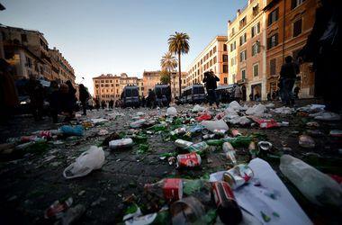 "УЕФА оштрафовал ""Фейенорд"" за беспорядки в Риме"