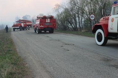 По факту пожара возле ЧАЭС открыто уголовное производство