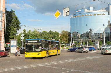 В Киеве закрывается троллейбусный маршрут