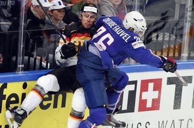 Немецкие хоккеисты обыграли французов на чемпионате мира