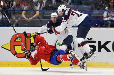 Сборная США одержала вторую победу на хоккейном ЧМ