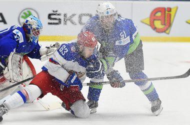 Сборная России обыграла Словению на ЧМ по хоккею