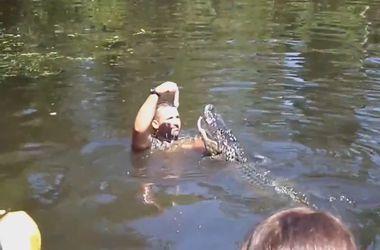 Даже крокодилы бывают нежными