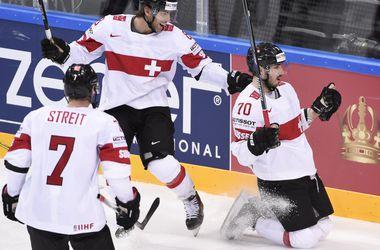 Онлайн видеотрансляция матча Швейцария - Германия на хоккейном ЧМ