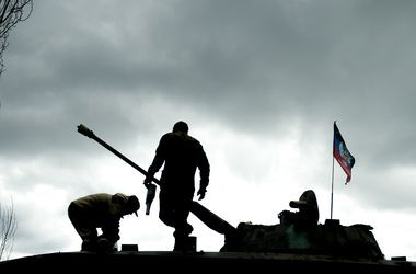 Боевики вечером два часа обстреливали Широкино