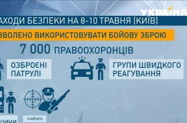 Киевские милиционеры будут стрелять на поражение в случае угрозы