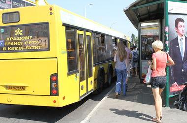 9 мая в работу общественного транспорта Киева будут внесены изменения (схема движения)