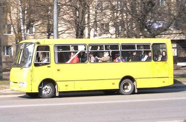 В киевских маршрутках установят видеокамеры