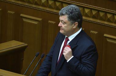 Порошенко заявил, что сделает все возможное для того, чтобы вернуть в Украину мир