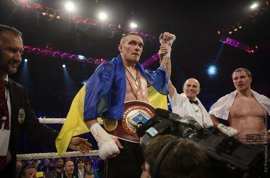 Александр Усик вошел в топ-15 рейтинга WBC