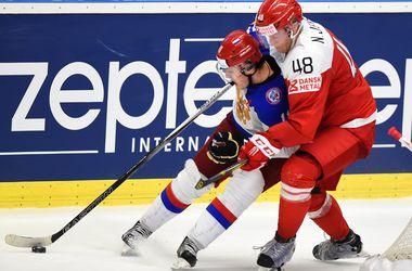 Трансляция матча Беларусь - Россия на хоккейном ЧМ