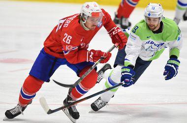 Трансляция матча Дания - Норвегия на хоккейном ЧМ