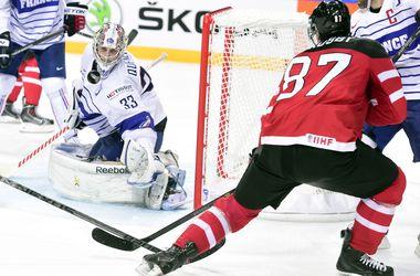 Канада удержала победу над Францией на ЧМ по хоккею