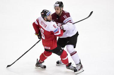 Битва аутсайдеров на ЧМ по хоккею завершилась победой Латвии