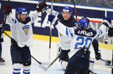 Финляндия обыграла Словакию на хоккейном чемпионате мира